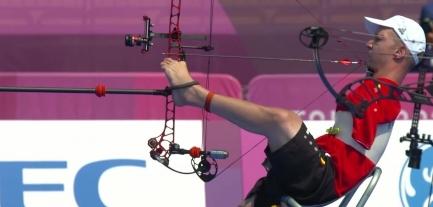 """Jeux Paralympiques : Piotr Van Montagu, """"l'archer sans bras"""""""